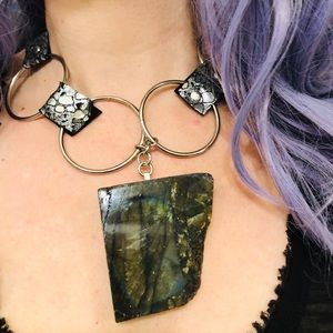 Jewelry - On of a kind labradorite necklace